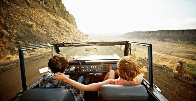 auto viaggio primavera